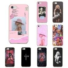 For Samsung Galaxy A10 A30 A40 A50 A70 M30 J3 J5 J7 2015 2016 2017 Europe Soft Transparent Bag Case Lady JOANNE Gaga lyric Quote
