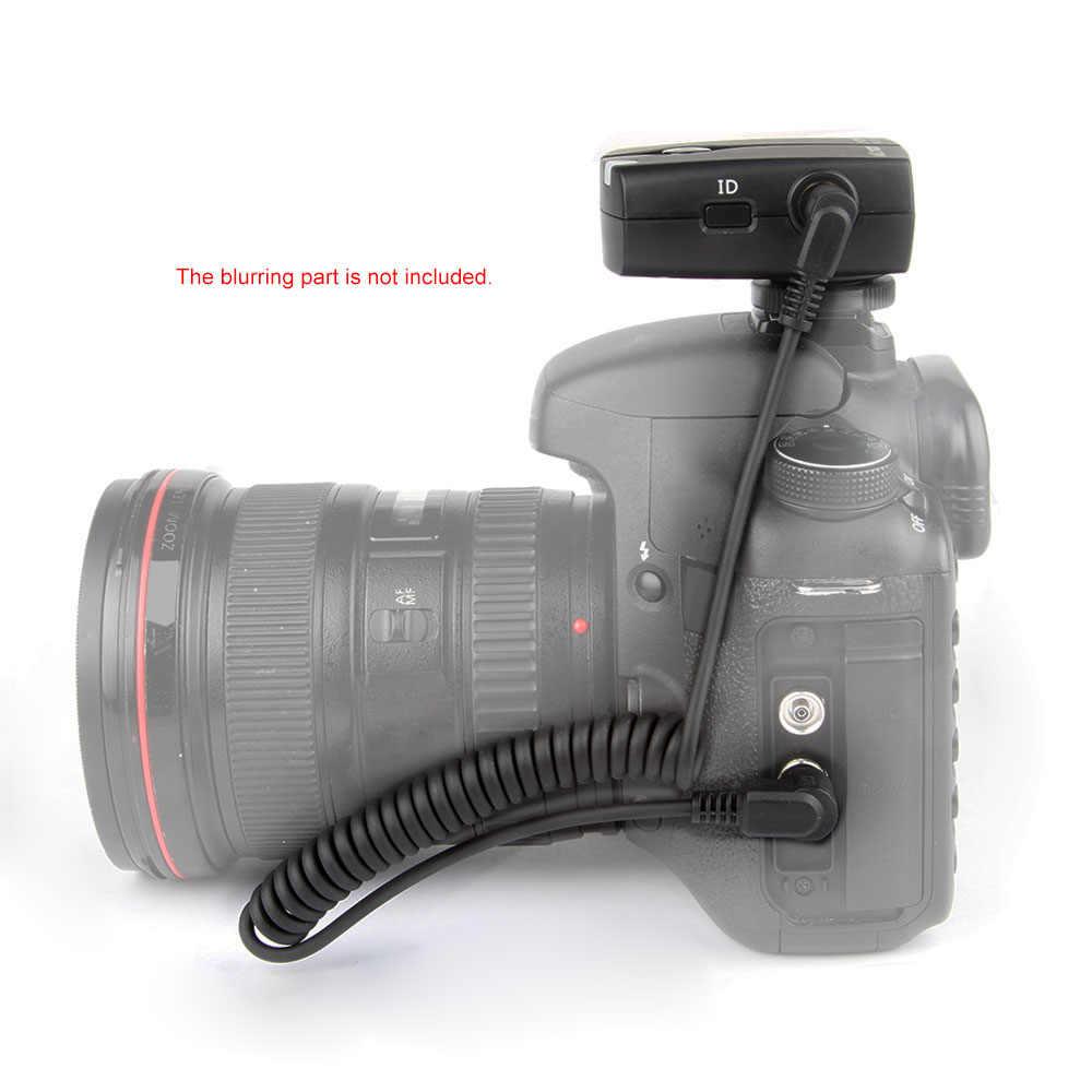 Viltrox FSK 2.4 GHz Không Dây Từ Xa Chụp Bộ Điều Khiển Bộ Thời Gian Trôi Đi C1 100 M Khoảng Cách Cho Canon 60D 70D ống Kính Pentax K5 K5II K7