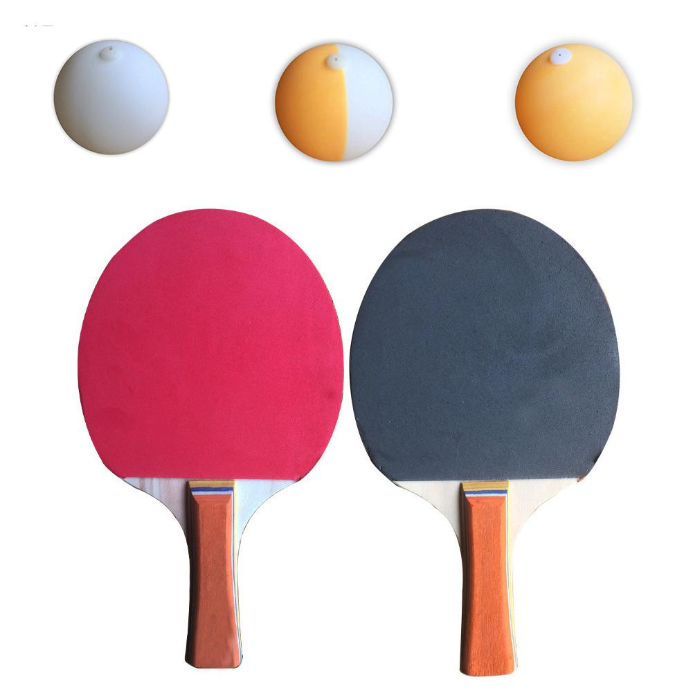 Soft Shaft Table Tennis Trainer Elastic Tempo Decompression Training Eye Force Training Ball Elastic Rod Sports Accessories