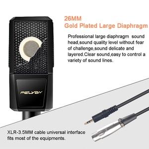 Image 3 - FELYBY BM1000 profesyonel ses stüdyo Karaoke kondenser Mikrofon için bilgisayar/dizüstü/PC kayıt bm 800 yükseltilmiş Mikrofon