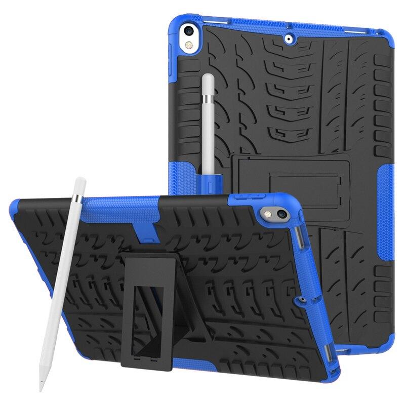 Чехол-держатель для карандашей для iPad Pro 10,5 ТПУ + ПК ударопрочный защитный Противоскользящий чехол для iPad Air 3 2019 A2123 A2153 A2152 чехол-подставка