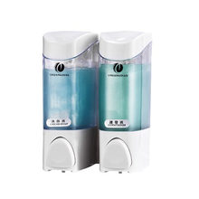 2pcs 300ml Wall Mount Soap Dispenser Pump Lotion Liquid Soap Dispenser Shampoo Box For Home Hotel Bathroom Shower Room(China)