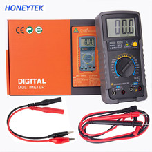 HONEYTEK High Accuracy LCR Meter Capacitance Inductance Resistance Multimeter ESR Capacitor Tester Inductance LC Meter(China)