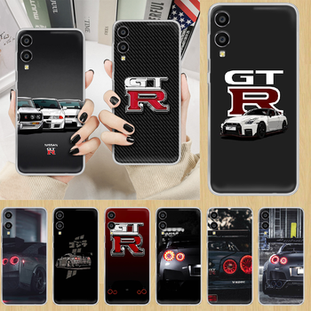 sports car Nissan Skyline Gtr Phone Case hull For HUAWEI honor nova v 5 7 8 9 10 20 30 C A X Lite Pro transparent shell painting image