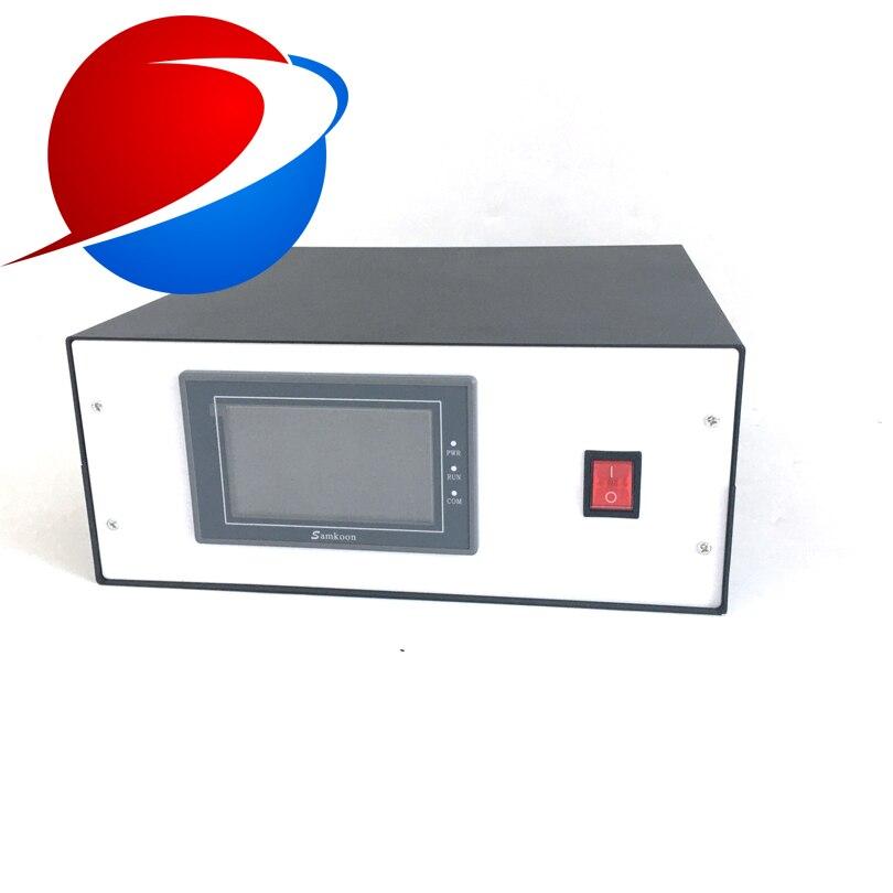 2000 Вт/15 кГц Ультразвуковой сварочный генератор цена с сварочным преобразователем для пластиковых сварочных машин и мешков