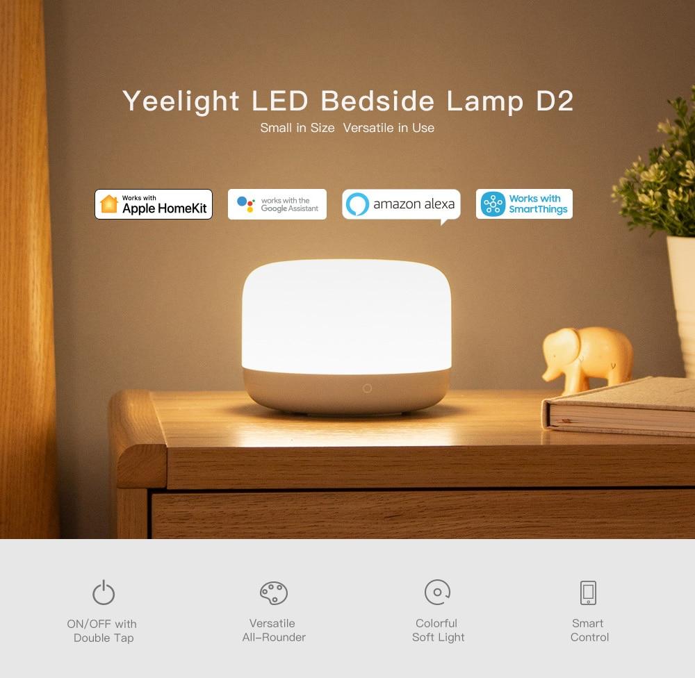 Xiaomi Yeelight Bedside Lamp D2 4