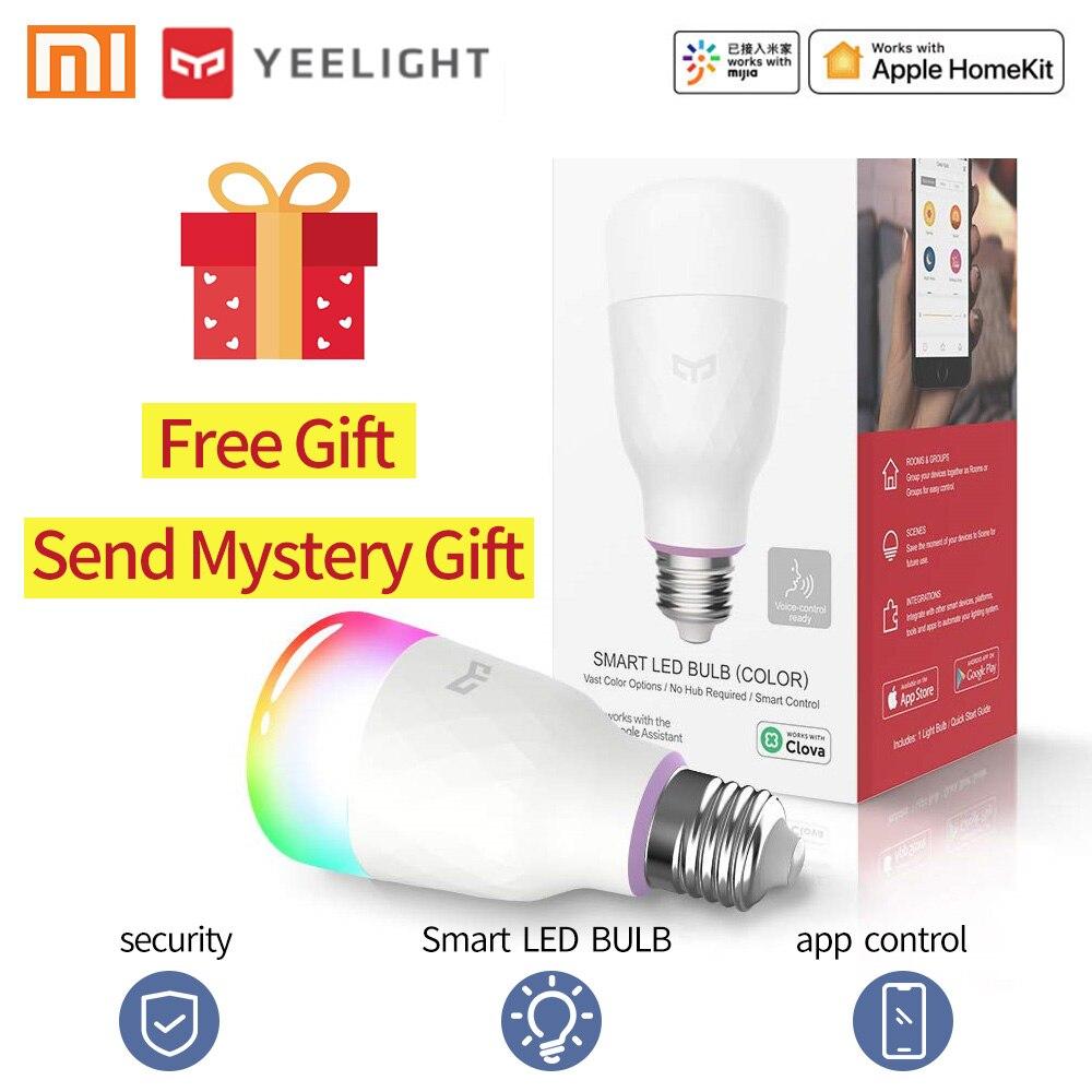 YEELIGHT Led Bulb Led Lamp Xiaomi Smart Bulb Smart Light E27 RGB LED Bulb Led Lights For Home 800 Lumens 10W WIFI MIhome App