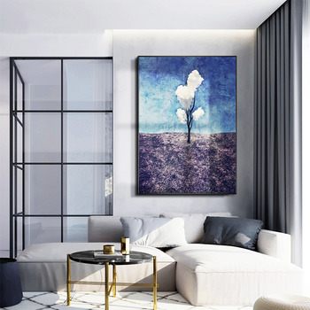 Abstract Painting Custom hand-painted European-style Hotel Wall Painting Decorative Painting The Living Room Entrance Hallway Ve