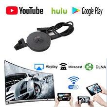 Newst 1080p WiFi дисплей ключ YouTube AirPlay Miracast TV Stick для Google 2 3 Chrome Crome Cast Cromecast 2