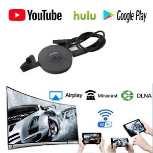 Image 1 - Novità 1080p WiFi Display Dongle YouTube AirPlay Miracast TV Stick per Google 2 3 Chrome Crome Cast Cromecast 2