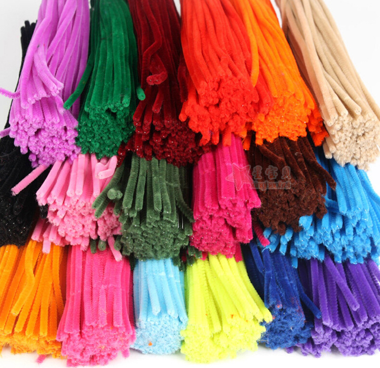 Flexible Spin Rod Hair Root Article Color Material 10 Yuan DIY Children 10 Yuan Art And Craft Lesson 10 Yuan