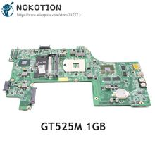 NOKOTION สำหรับ Dell Inspiron 17R N7110 แล็ปท็อป DAV03AMB8E0 CN 037F3F 037F3F 37F3F HM67 DDR3 GT525M 1GB