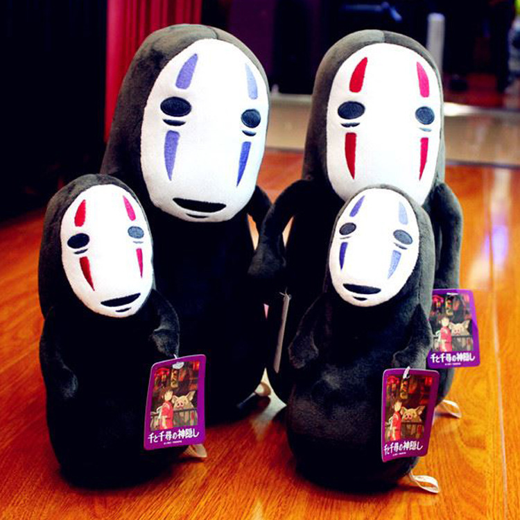Spirited Away Plush Toys No Face man anime figure Dolls totor sofa plush pillow Birthday and Holiday gifts for children 20/30c
