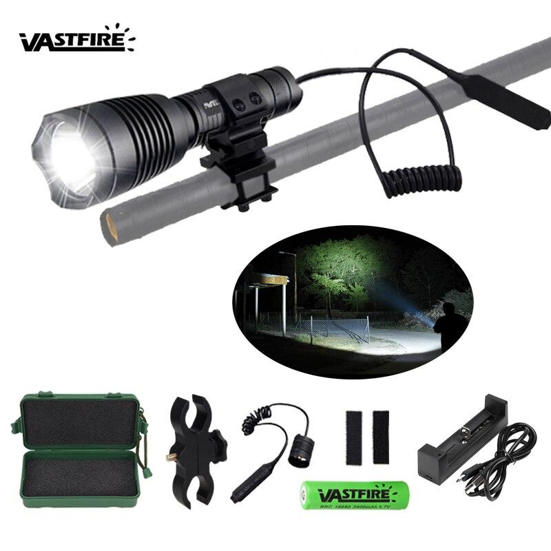 tatico arma gun luz t6 t4 led guerreiro airsoft lanterna montado interruptor 2 20 milimetros ferroviario