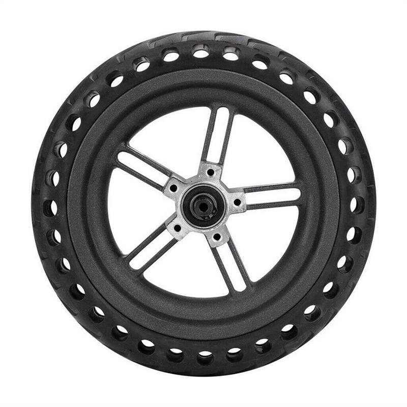 8.5 Inch Damping Solid Tyres Hollow Non Pneumatic Wheel Hub And Explosion Proof Tire Set For Xiaomi Mijia M365 Electric Scooter|Tire Accessories| |  - title=