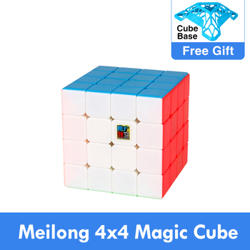 Moyu Meilong 4x4 Cubing Speed  Magic Puzzle Strickerless 4x4x4 Neo Cubo Magico 59mm Mini Size Frosted Surface Toys for Children - discount item  21% OFF Games And Puzzles