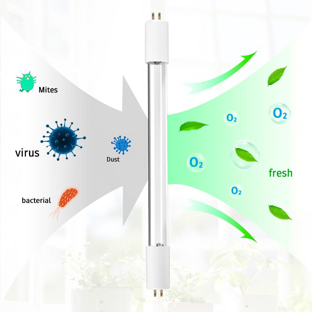 New Arrival LED UV Lamp Germicidal Sterilizer Eliminator Home Tube Quartz Ultraviolet Light