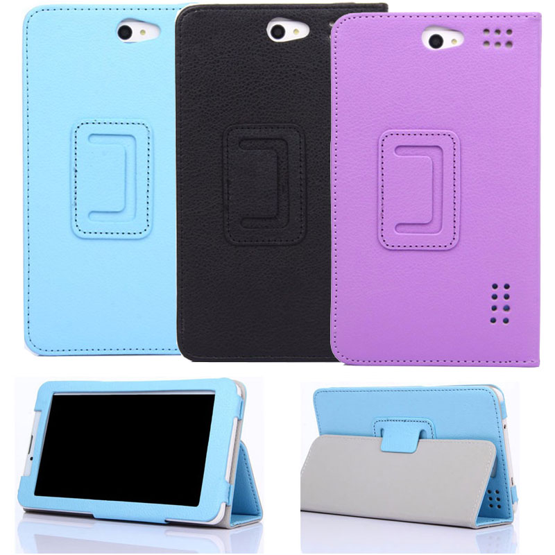 New for Navitel A737 T700 A735 3G 7 Inch Tablet PU Leather Cover Case image