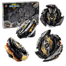 XD168-30A Limited Black Warrior Set Burst Burst Assembly Gyro Alloy Gyro Toy Four in One xd168 11 burst gyro toy blast gyro pair battle disk arena b122 gyro series set