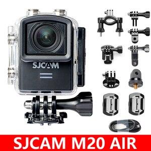 Image 1 - Sjcam câmera de ação original m20 air, câmera esportiva de 12mp e wifi à prova d água, 1080p, ntk96658, para capacete de 12mp
