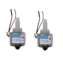 2 adet/grup 110V-240V AC duman makinesi 30DCB 18W yağ pompası pirinç sis duman makinesi yağ pompa 400W 500W 50-60HZ sahne LED sisleyici parçaları