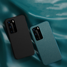 Ultra Thin Leather Phone Case For Huawei