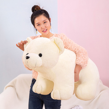 2020 giant polar bear doll cute white bear plush toy wedding event gift decoration 35inch 90cm DY50777