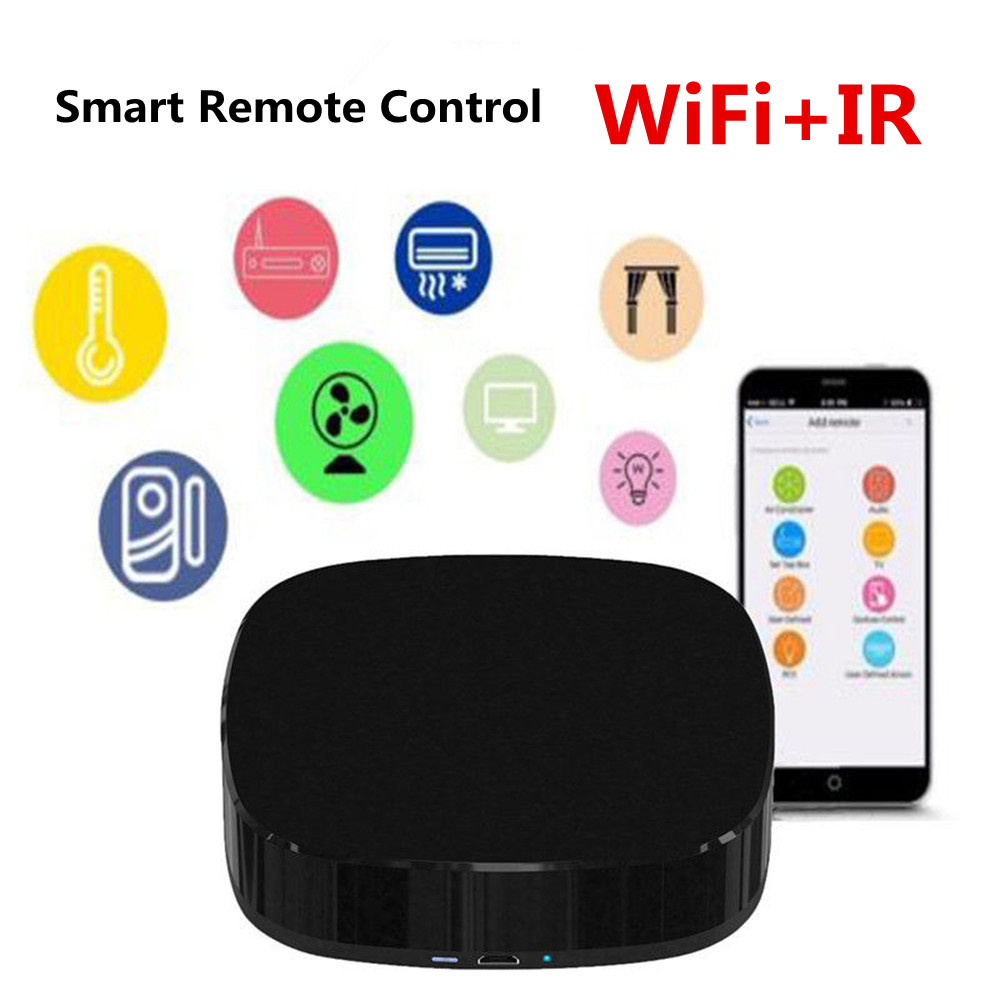 New AI Function Smart WiFi + IR Remote Control Universal Wireless Intellegent Voice Controller For Alexa IFTTT Google Smart Home