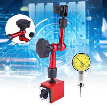 0-0.8mm Dial Test Indicator Gauge Universal Magnetic Base Holder Stand Table Scale Indicators Center Finder Measuring Tools