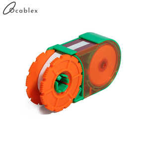 Image 1 - 5 Pcs/Lot Fiber end face cleaning box fiber wiping tool pigtail cleaner cassette fiber cleaner