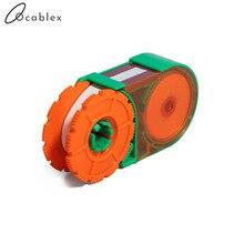 5 stks/partij vezeleindvlak schoonmaken doos fiber vegen tool pigtail cleaner cassette fiber cleaner