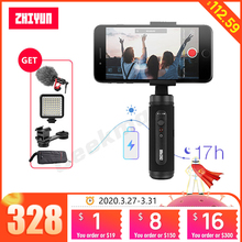Zhiyun Smooth Q2 Smartphone Gimbal 3 axis Handheld Stabilizer for Iphone 11 Pro Android vs OSMO Moblie 3 smooth 4 MINI S