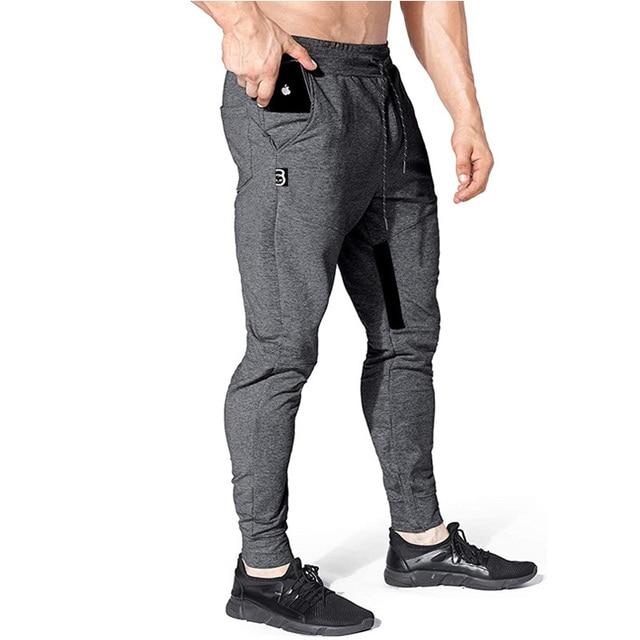 New Brand Jogging Pants Men Sport Sweatpants Running Pants Men Fitness Joggers Trackpants Slim Fit Pants Bodybuilding Trouser 3