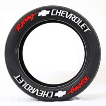 Pegatinas de letras para neumático de coche, pegatinas 3D estéreo con letras en inglés para neumático de motocicleta, decoración de neumáticos modificada con personalidad para rueda