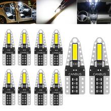 10 шт Автомобильные светодиодные лампы t10 194 168