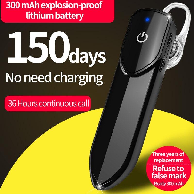 Bluetooth-наушники KEBIDU с микрофоном, беспроводные наушники для режима «свободные руки», спортивные водонепроницаемые беспроводные наушники ...