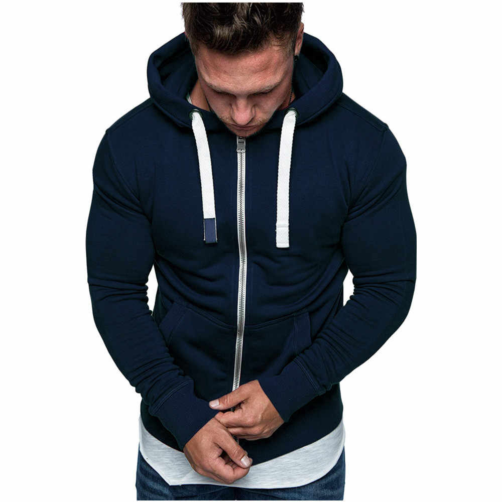 Mens Solid Winter Long Ruched Sleeve Casual Sports Tops Shirts Slim Fit Hoddies