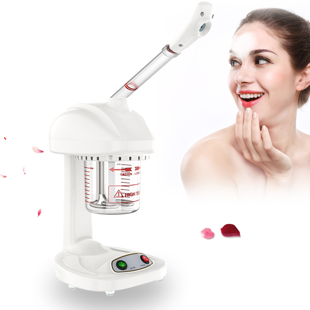 Beauty Instrument Ionic Spraying Machine Facial Steamer Salon Spa Ozone Steaming Skin Care Machine SPA Steaming Machine