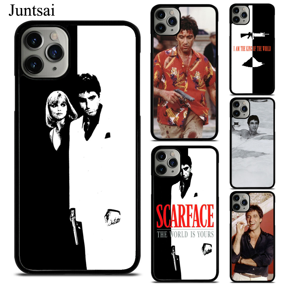 Scarface Tony Montana Case For iPhone 7 8 Plus 6S SE 2020 12 Pro Max mini 11 Pro Max XS X XR Cover