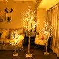 Silber Birke Lampe LED Weihnachts Baum Lichter fang zhen shu deng Zimmer Schlafzimmer Dekorative Leuchten Außen Landschaft Weihnachten Lichter