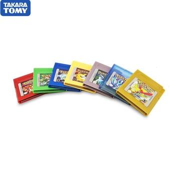 Pokemon Series Pikachu 16 Bit Video Game Cartridge Console Card Classic Collect Colorful Version English Language
