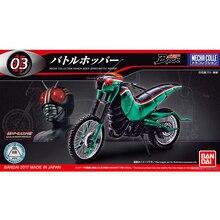 המקורי Bandai קאמן רוכב אופנוע לחימה ארבה קטר NO.3 עצרת פעולה Figureals Brinquedos מודל
