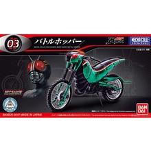 Originele Bandai Kamen Rider Motorcycle Vechten Locust Locomotief NO.3 Vergadering Action Figureals Brinquedos Model