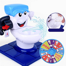 Spray Water Toilet Seat Closestool Spoof Vent Jokes Pranks Toy Halloween Tricky Novelty Funny Children Play Game