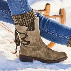 Самая низкая цена; Лучшее качество и бесплатный подарок; Женские ботинки; Сезон осень-зима; Ботинки на плоской подошве для девочек; Модная вязаная обувь в стиле пэчворк