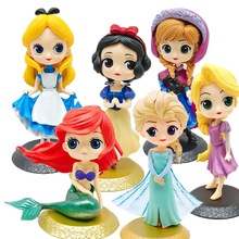 Frozen Figures Anna Elsa Action Figures Cake decoration Toys