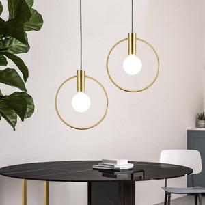 Image 3 - Современные подвесные светильники, скандинавские минималистичные подвесные светильники, потолочное украшение, стеклянный шар, лампа для гостиной, спальни, столовой