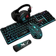 4 шт/компл k59 механические Проводная usb клавиатура игровая