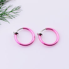 1pcs Pink Earring Party Favors Gifts Guests Presents Valentines Wedding Girlfriend Day Romance Souvenir(China)