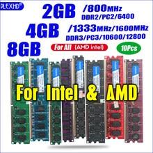 PLEXHD pulpit pamięci RAM PC2 Memoria pamięci modułu do DDR2 800 PC3 1333 4GB kompatybilny DDR3 800MHz 667MHz mini gry komputerowe płyta główna